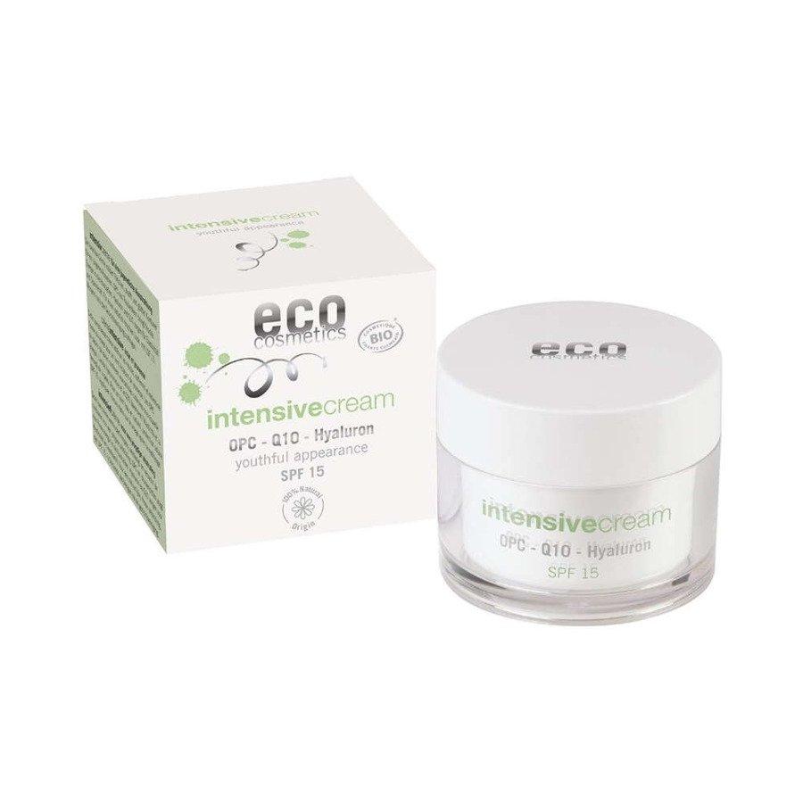 Eco Cosmetics Intensive Krem intensywnie pielęgnujący SPF 15 z OPC, Q10 i kwasem hialuronowym 60 ml