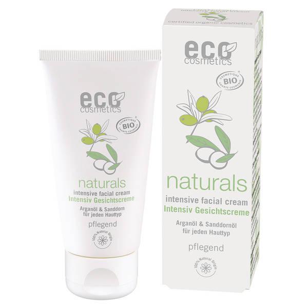 Eco Cosmetics Krem do twarzy intensywnie pielęgnujący 50 ml