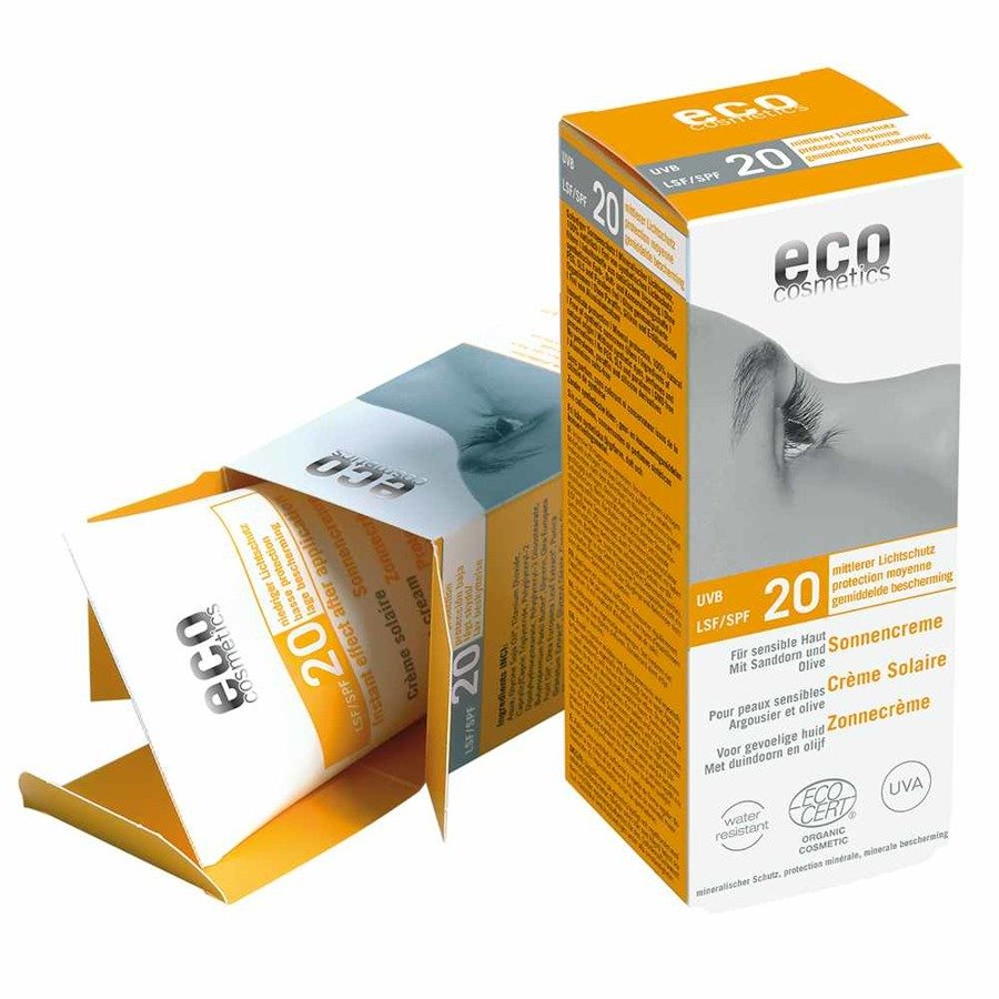Eco Cosmetics Krem na słońce SPF20 75 ml
