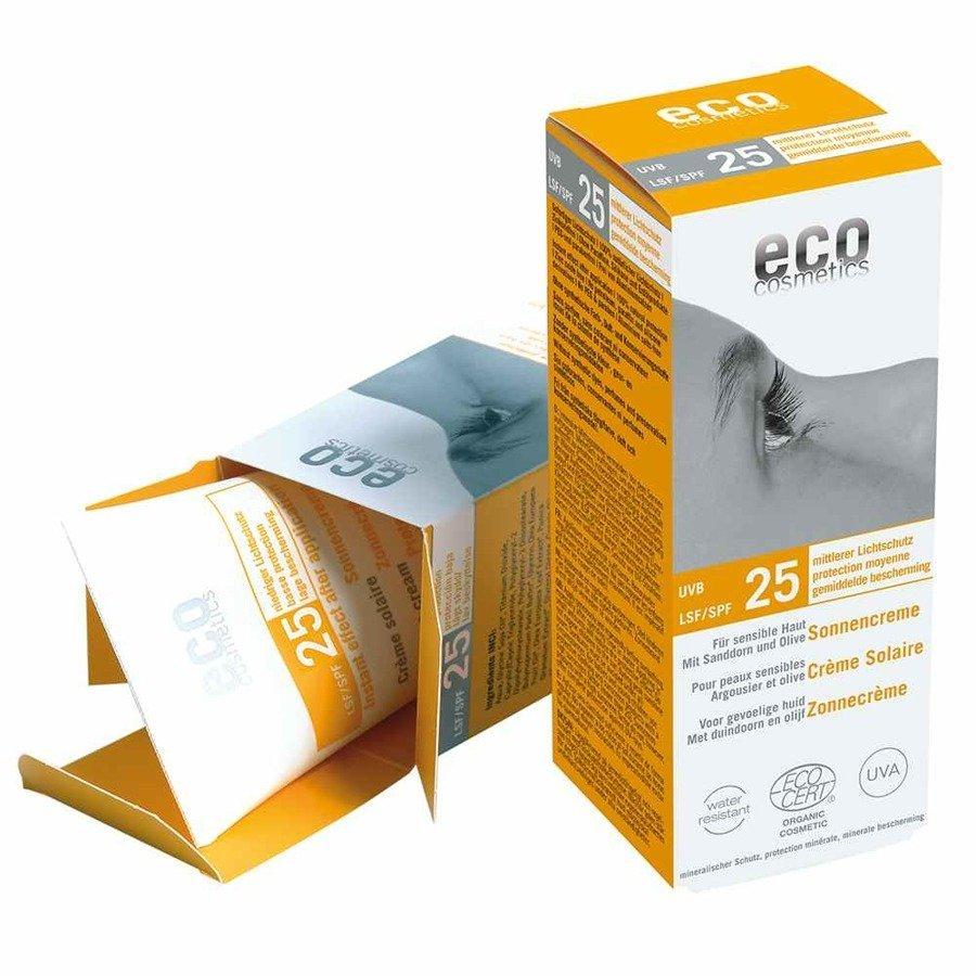 Eco Cosmetics Krem na słońce SPF25