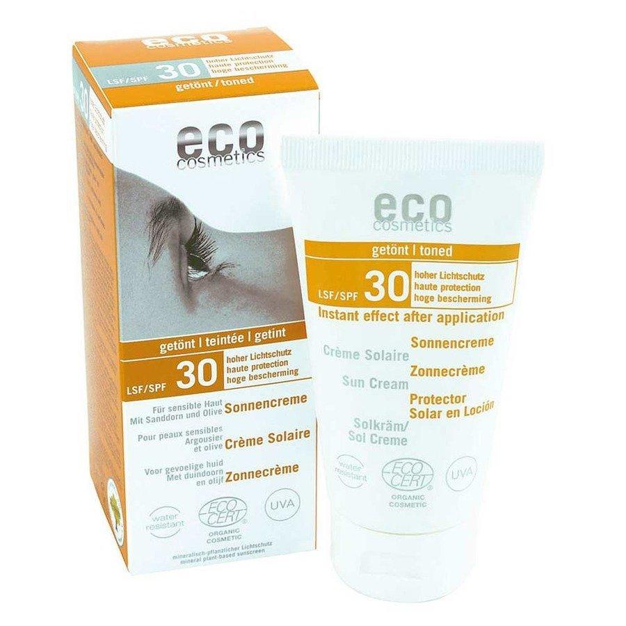 Eco Cosmetics Krem na słońce tonowany SPF30
