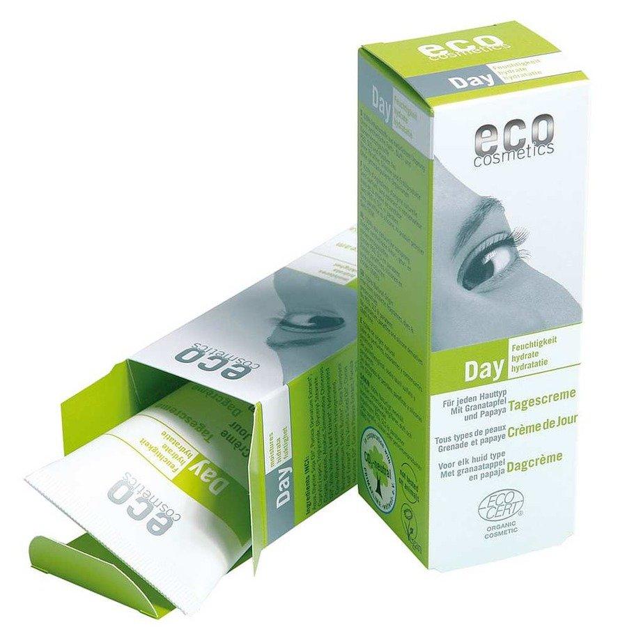 Eco Cosmetics Krem nawilżający do twarzy na dzień 50 ml