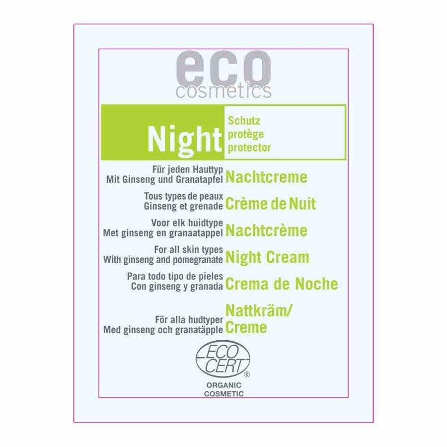 Eco Cosmetics Krem odżywczy do twarzy na noc 2 ml