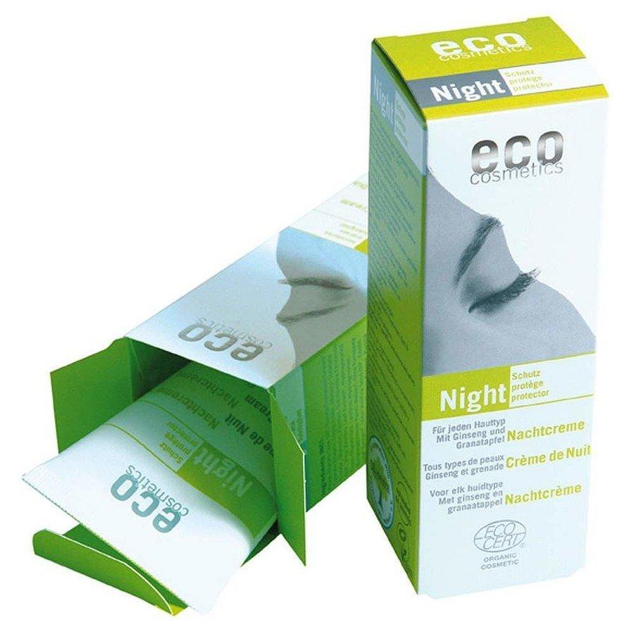 Eco Cosmetics Krem odżywczy do twarzy na noc 50 ml