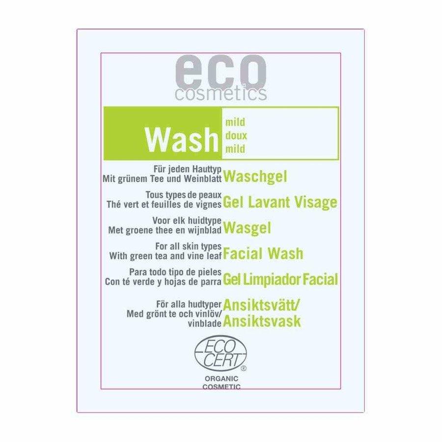 Eco Cosmetics Łagodny żel do mycia twarzy 2 ml