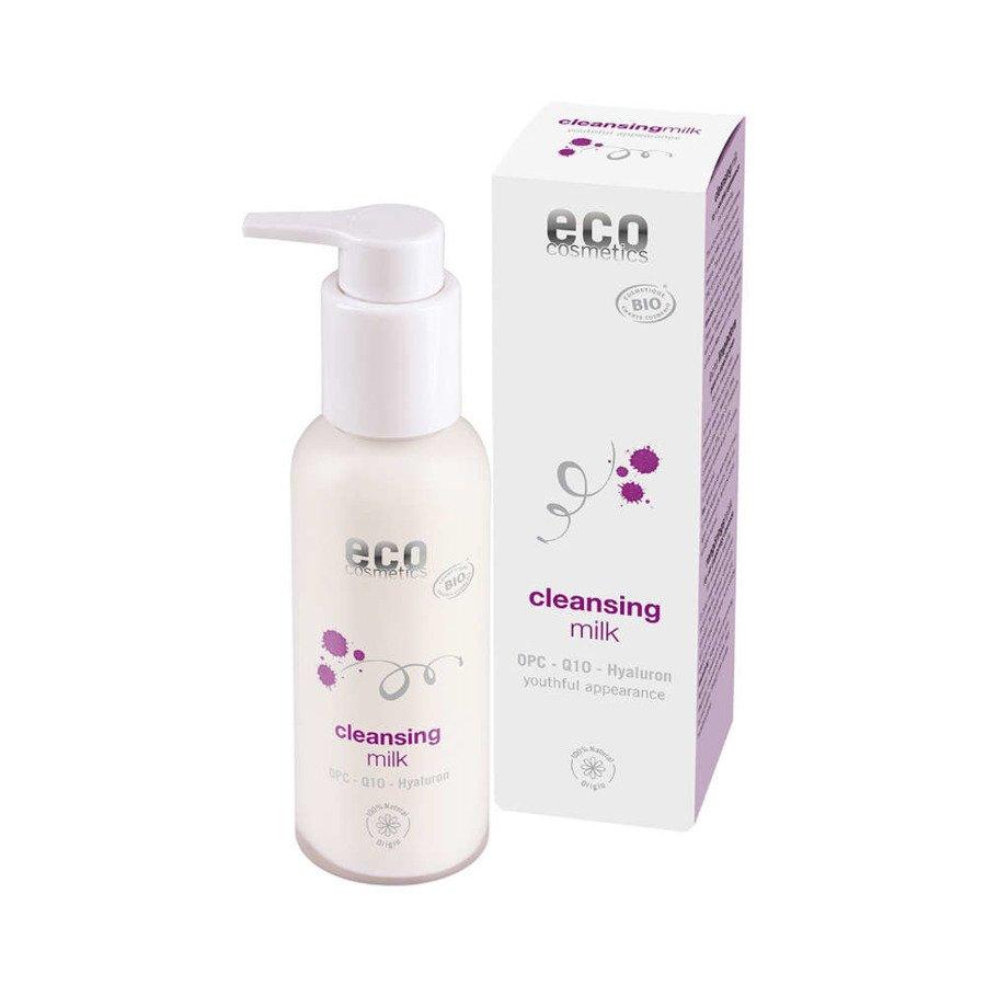 Eco Cosmetics Mleczko oczyszczające z OPC, Q10 i kwasem hialuronowym 100 ml