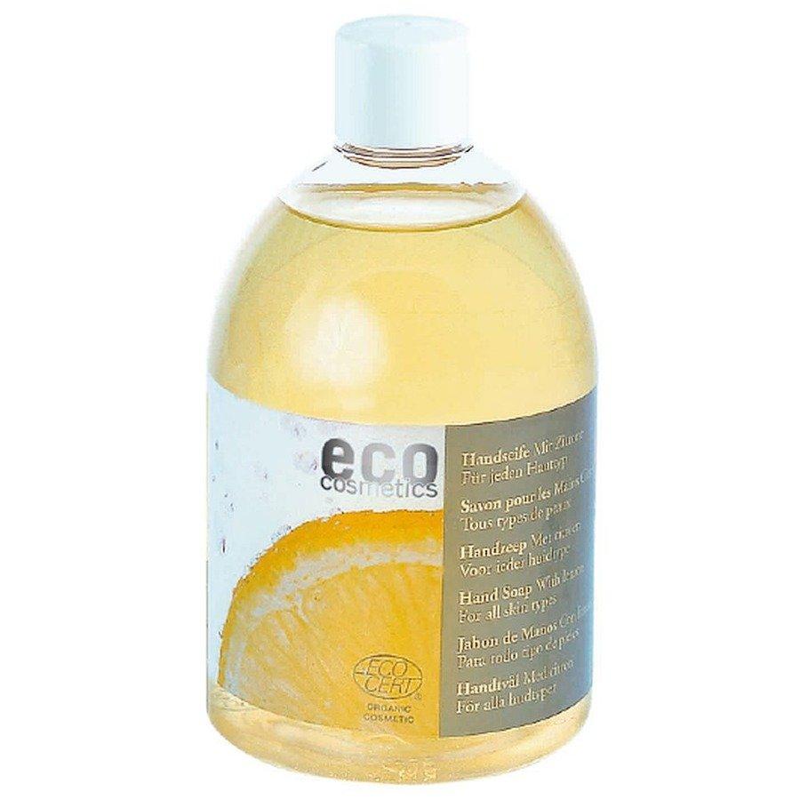 Eco Cosmetics Mydło w płynie z cytryną (uzupełnienie)