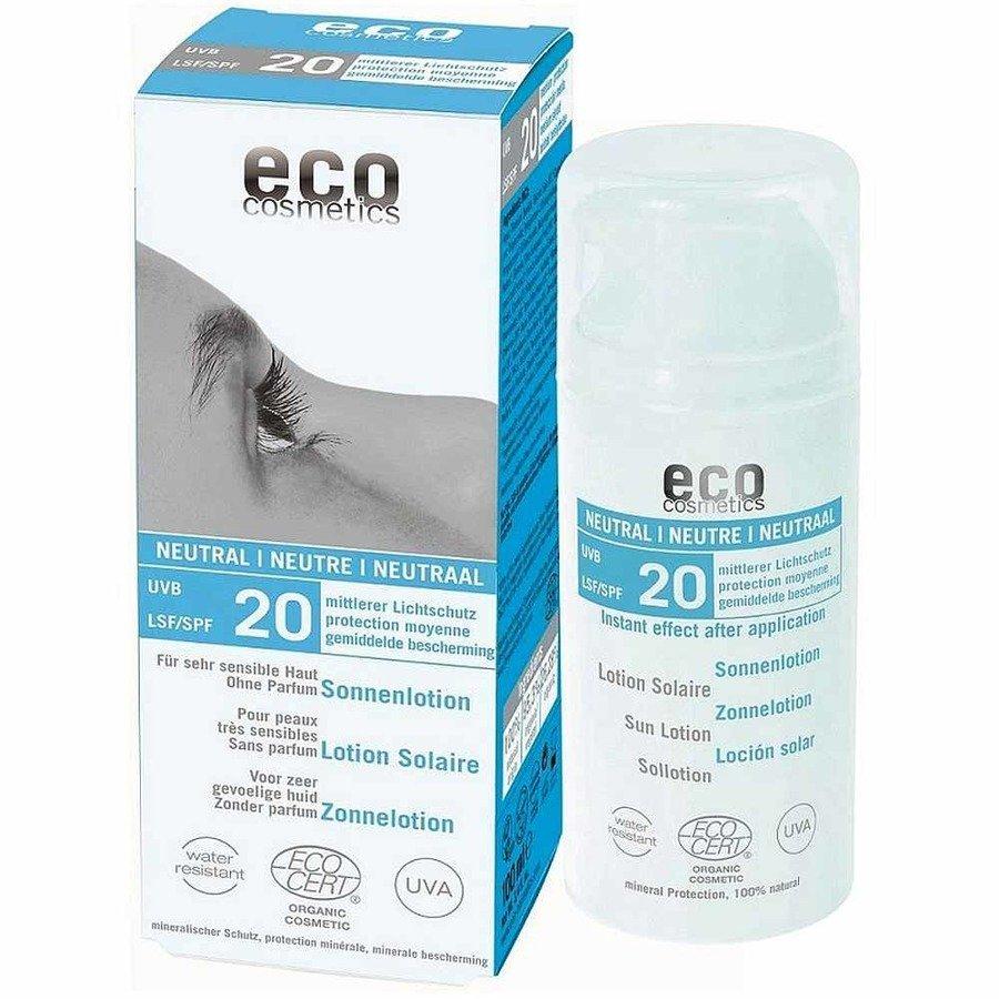 Eco Cosmetics Neutral Emulsja na słońce dla skóry bardzo wrażliwej SPF20