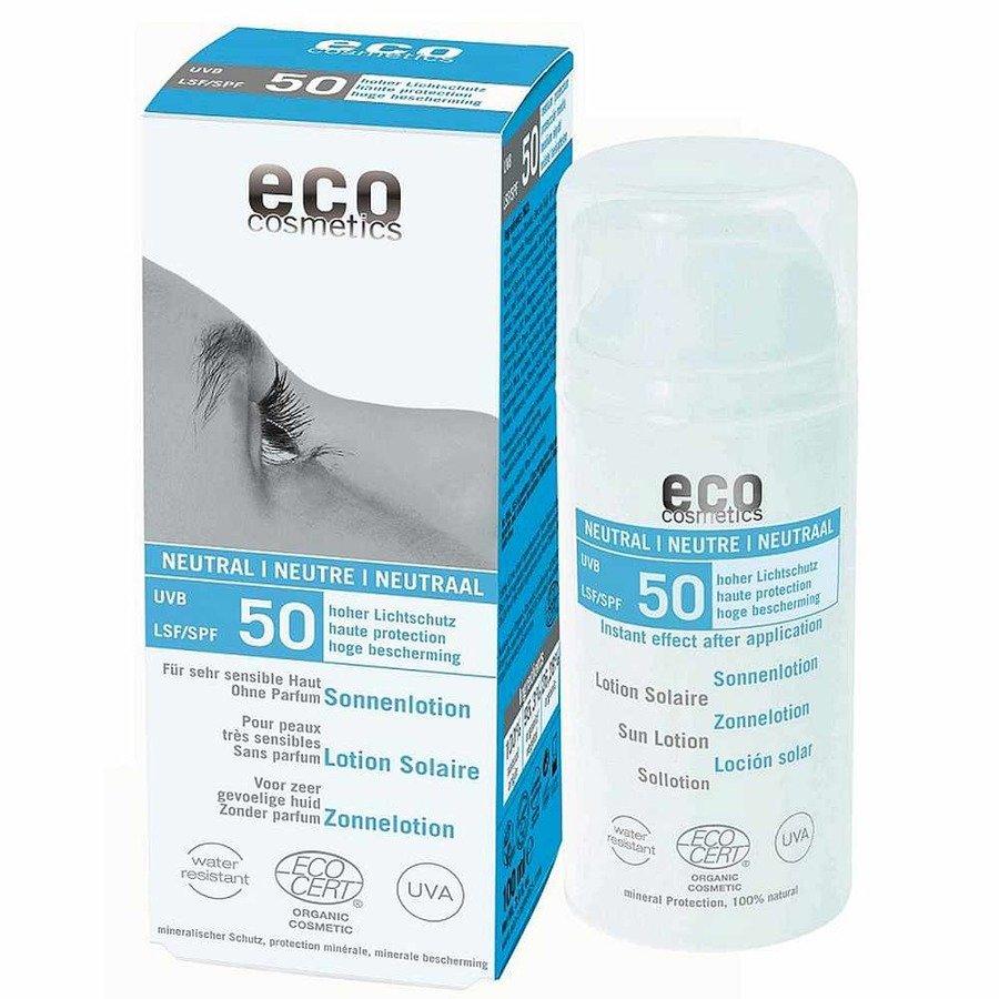 Eco Cosmetics Neutral Emulsja na słońce dla skóry bardzo wrażliwej SPF50 100 ml