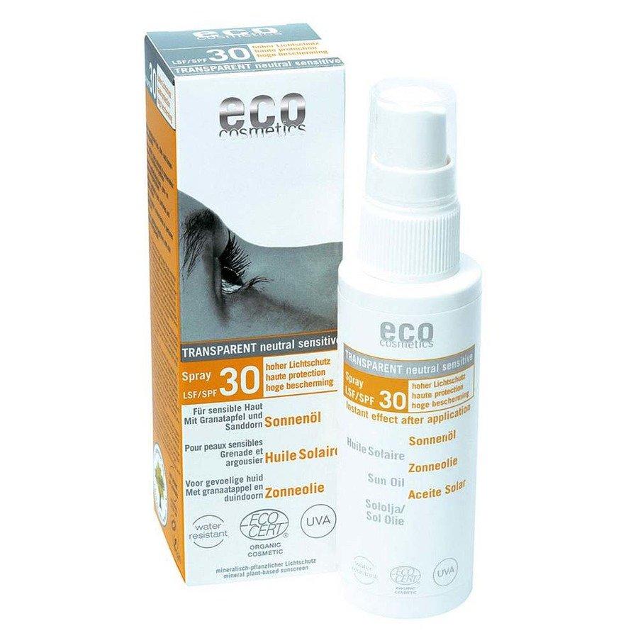Eco Cosmetics Olejek na słońce dla skóry wrażliwej SPF30