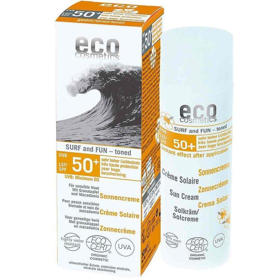 Eco Cosmetics Surf and Fun Krem na słońce dla skóry wrażliwej SPF50+