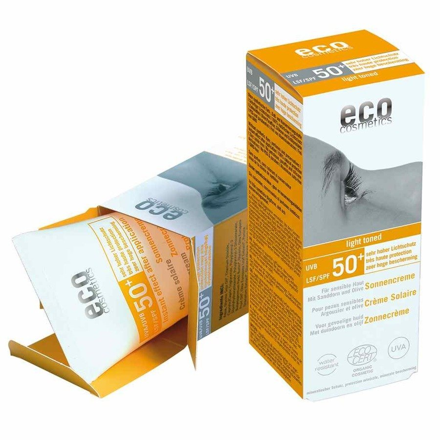 Eco Cosmetics krem na słońce SPF50+
