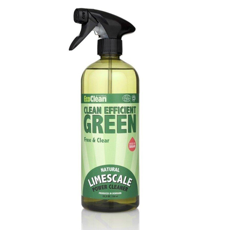 EcoClean Nordic Płyn do mycia łazienki z pompką naturalny (bezzapachowy)