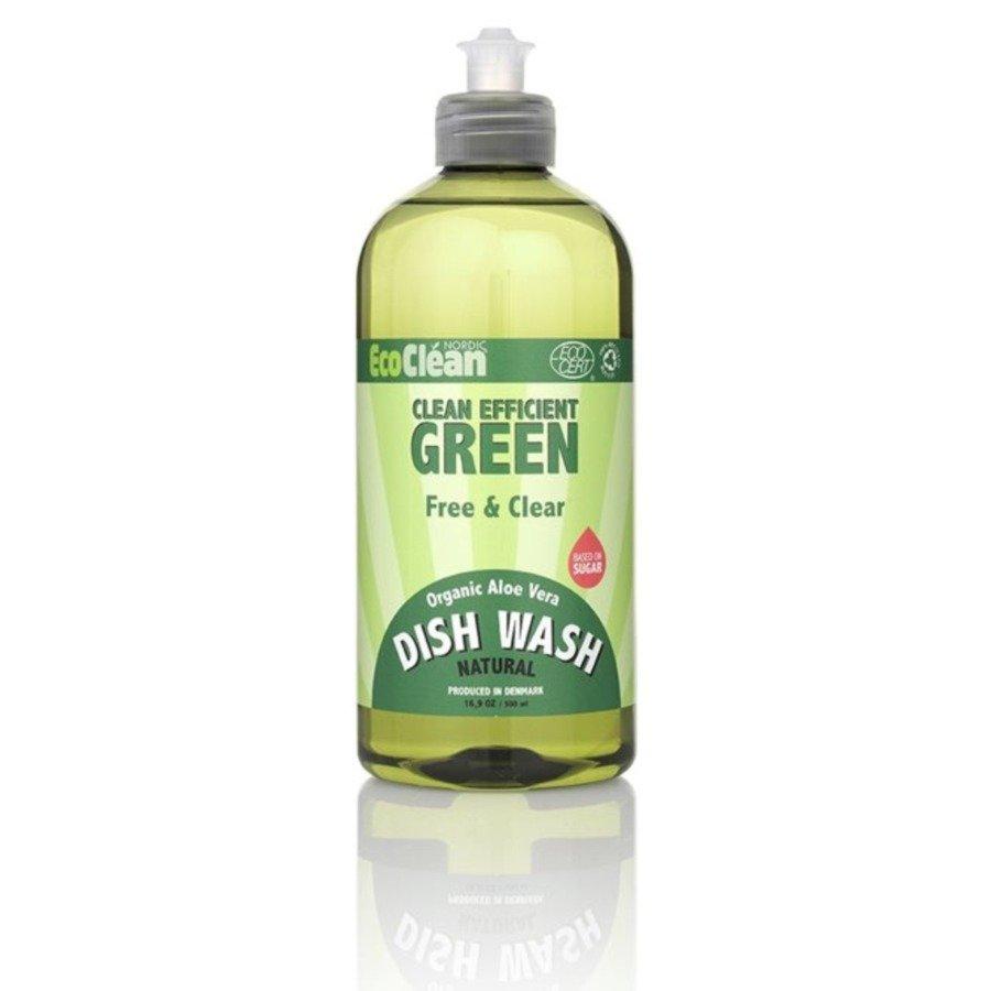 EcoClean Nordic Płyn do mycia naczyń dla alergików bezzapachowy 500 ml