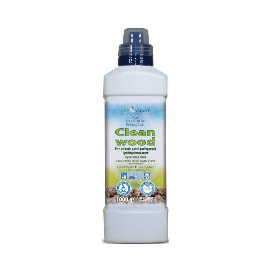 EcoVariant Clean Wood Płyn do mycia podłóg drewnianych i drewnopodobnych 1 kg