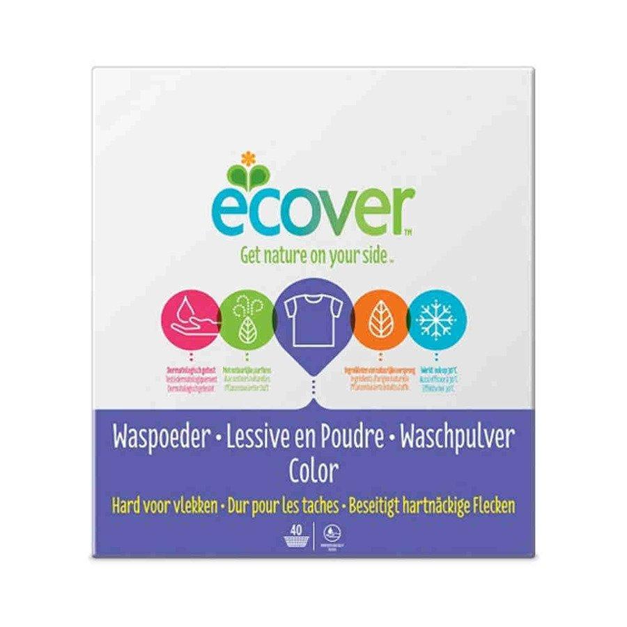 Ecover Hipoalergiczny proszek do prania tkanin kolorowych 1,2 kg