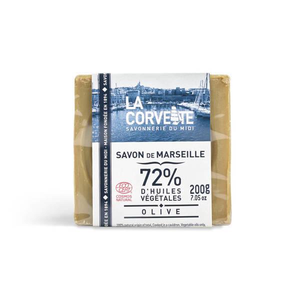 Ekologiczne mydło marsylskie oliwkowe w kostce La Corvette 300 g