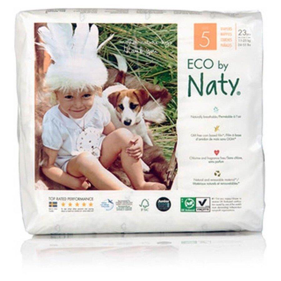 Ekologiczne pieluchy jednorazowe Naty 5 11-25 kg 23 szt.