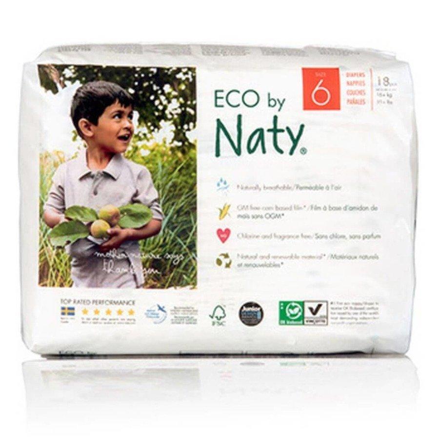 Ekologiczne pieluchy jednorazowe Naty 6 16+ kg