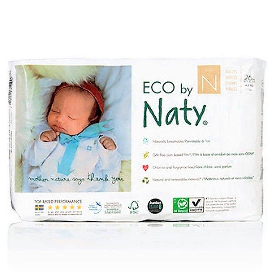 Ekologiczne pieluchy jednorazowe Naty N New Born do 4,5 kg