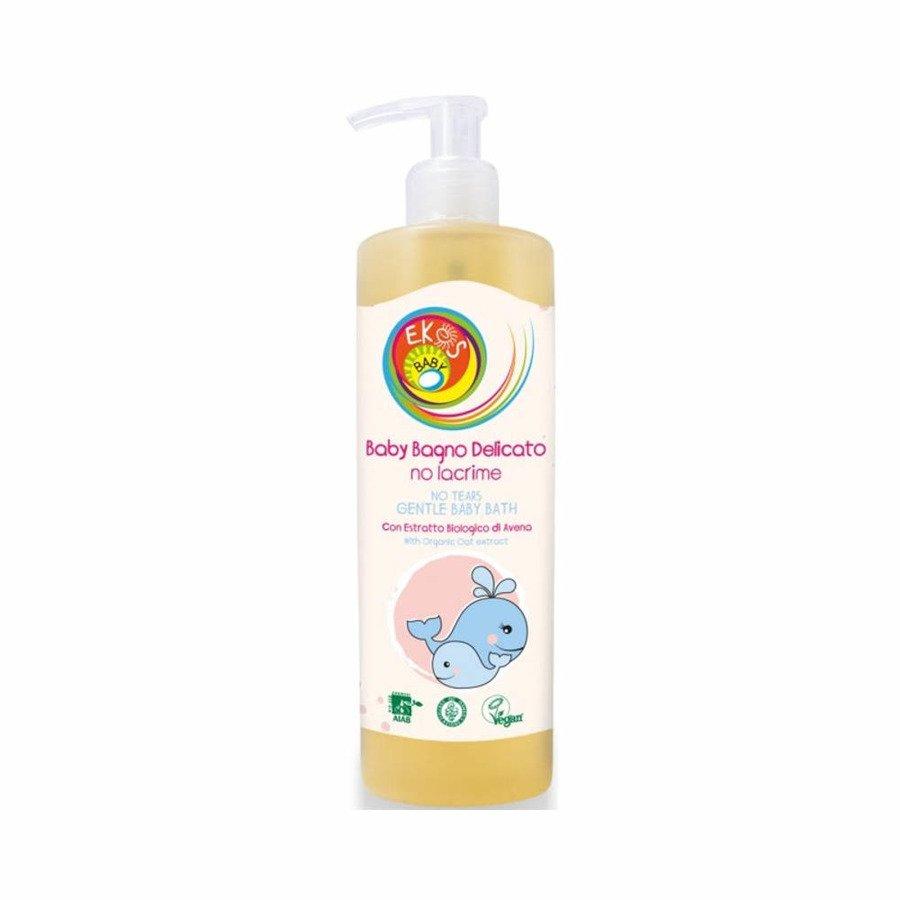 Ekos Baby Delikatny płyn do kąpieli dla dzieci i niemowląt bez łez 400 ml