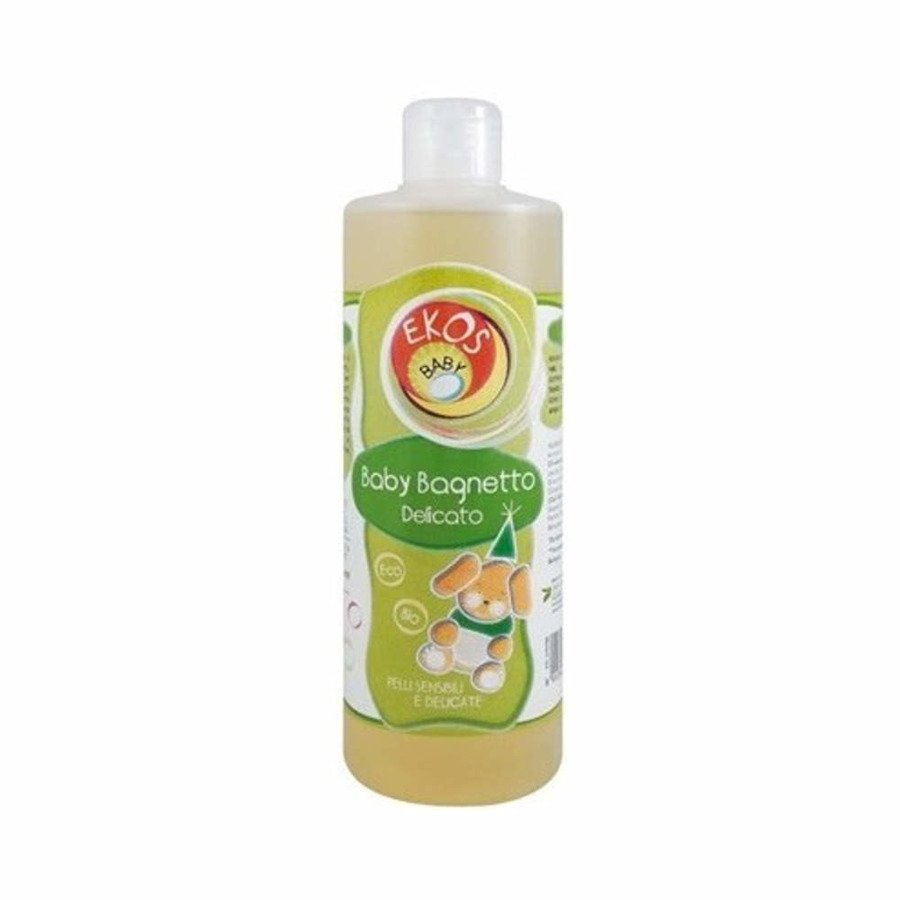 Ekos Baby Płyn do kąpieli i szampon 2w1 dla niemowląt z ekstraktem z owsa 400 ml