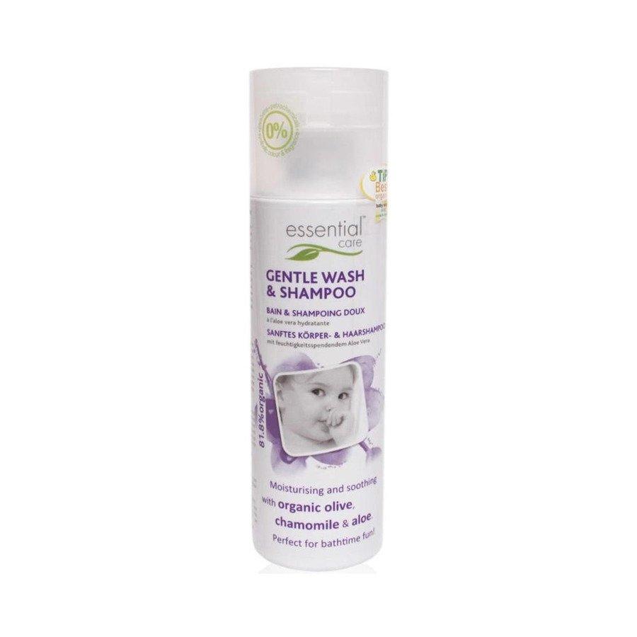 Essential Care Delikatny płyn do mycia ciała i włosów dla niemowląt w tubce 50 ml