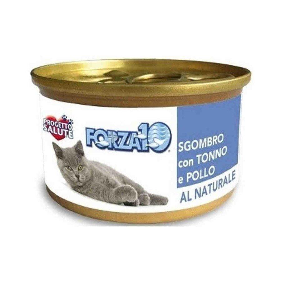 Forza10 Maintenance Bytowa karma mokra dla kota makrela z tuńczykiem i kurczak 80 g
