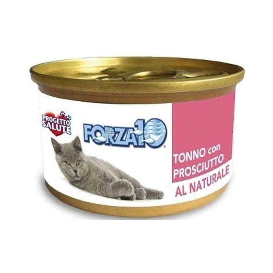 Forza10 Maintenance Bytowa karma mokra dla kota tuńczyk z szynką 80 g