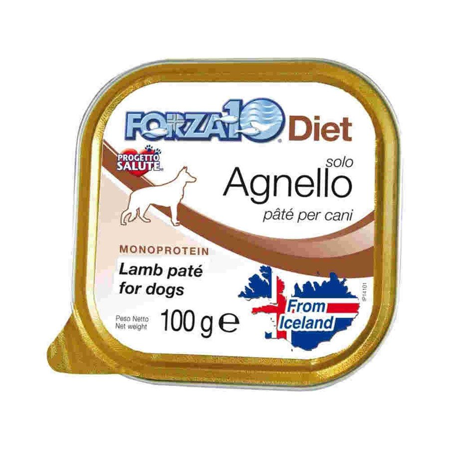 Forza10 Solo Diet Hipoalergiczna karma mokra dla psa jagnięcina 100 g - termin ważn. 31.03.2020