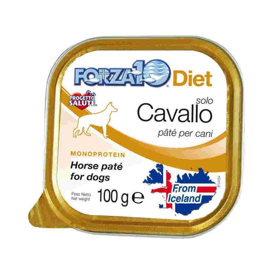 Forza10 Solo Diet Hipoalergiczna karma mokra dla psa konina 100 g
