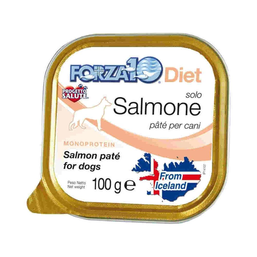 Forza10 Solo Diet Hipoalergiczna karma mokra dla psa łosoś 100 g