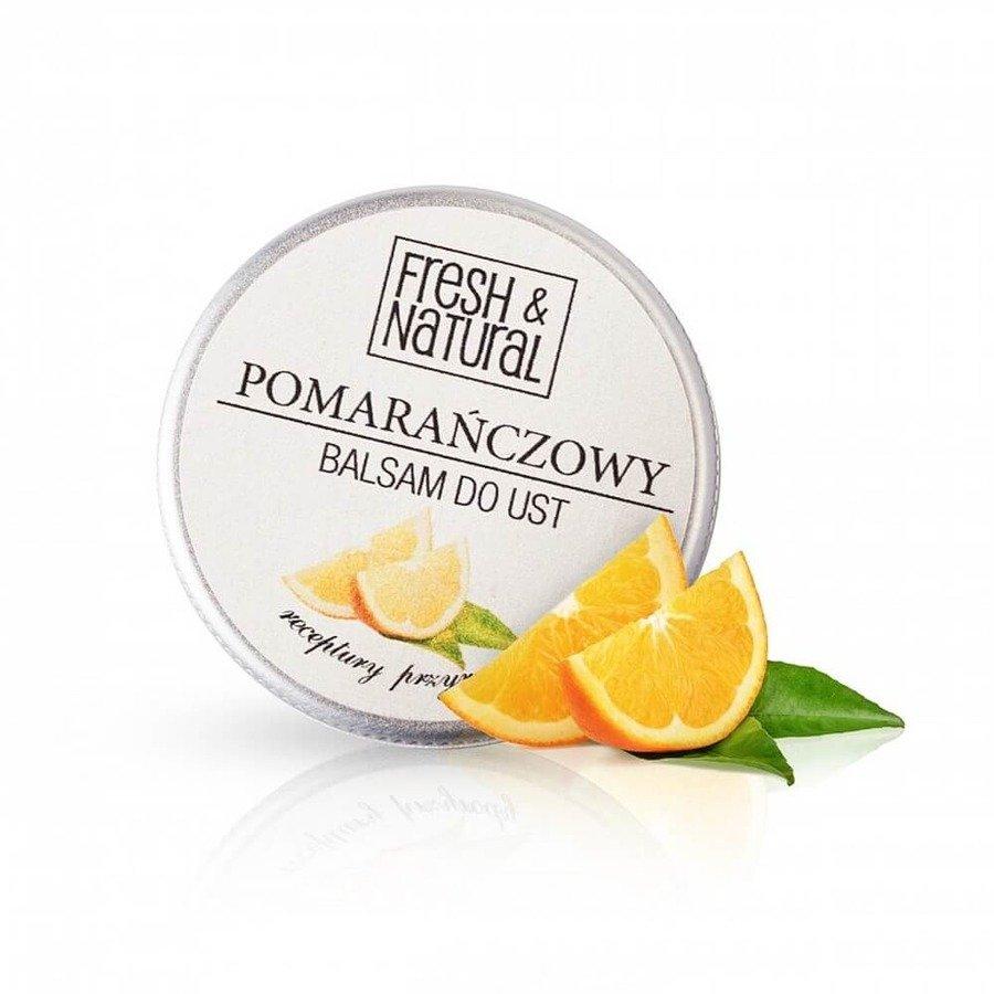 Fresh&Natural Balsam do ust pomarańczowy