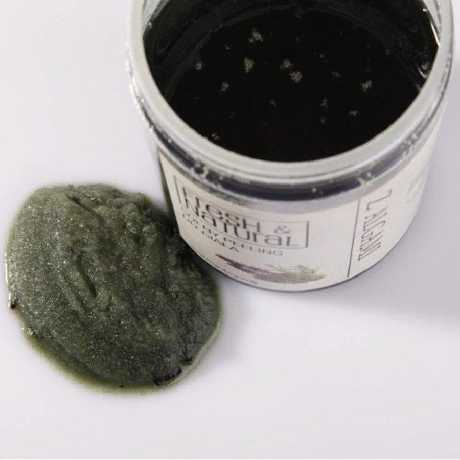 Fresh&Natural Cukrowy peeling do ciała z algami 1000g