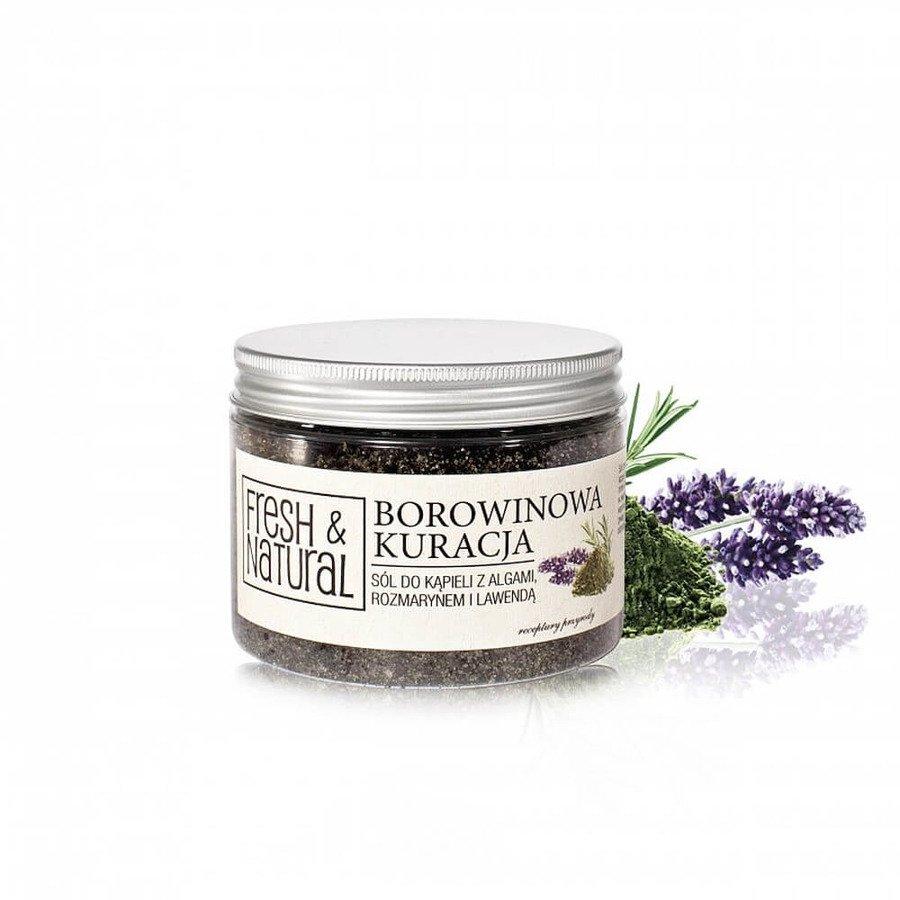 Fresh&Natural Sól borowinowa 500g