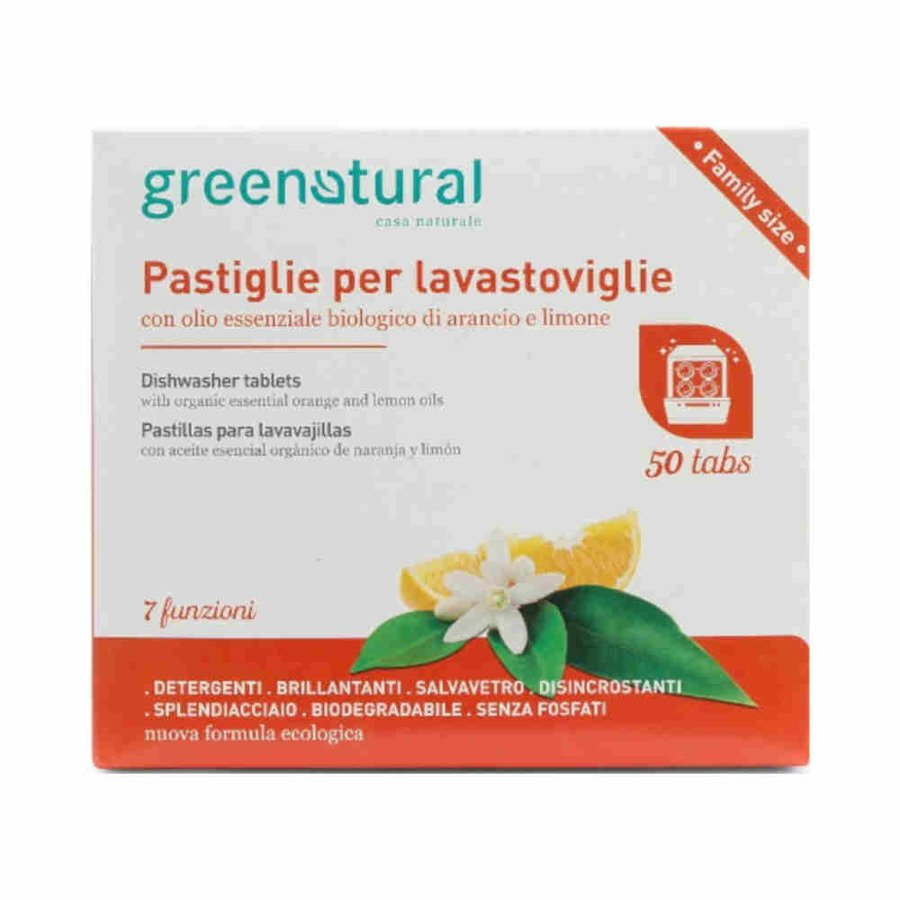 Greenatural Tabletki do zmywarek 50 szt.