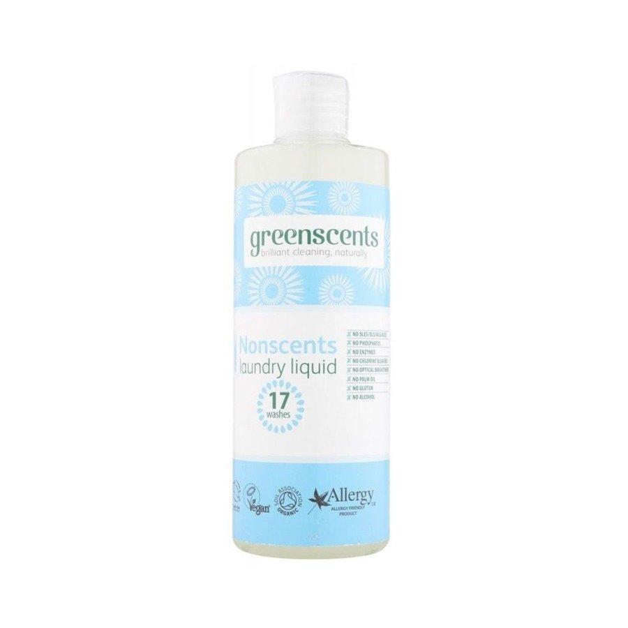 Greenscents Hipoalergiczny płyn do prania bezzapachowy 500 ml