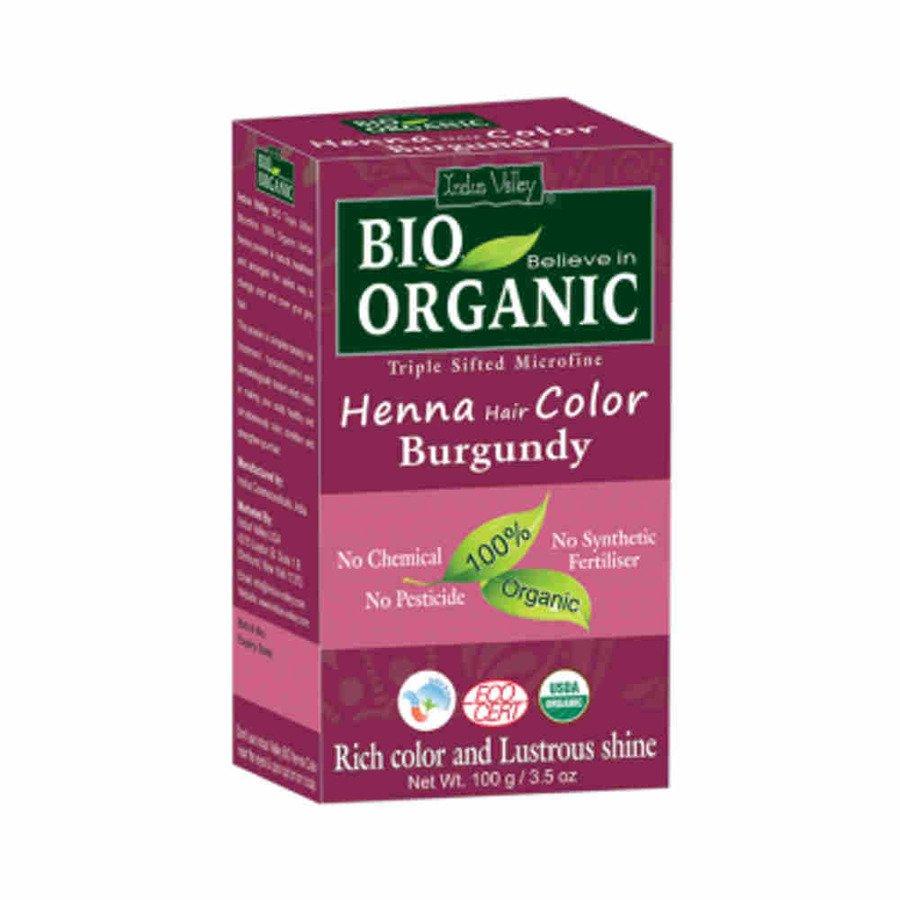 Indus Valley Henna farba do włosów na bazie henny burgund 100 g