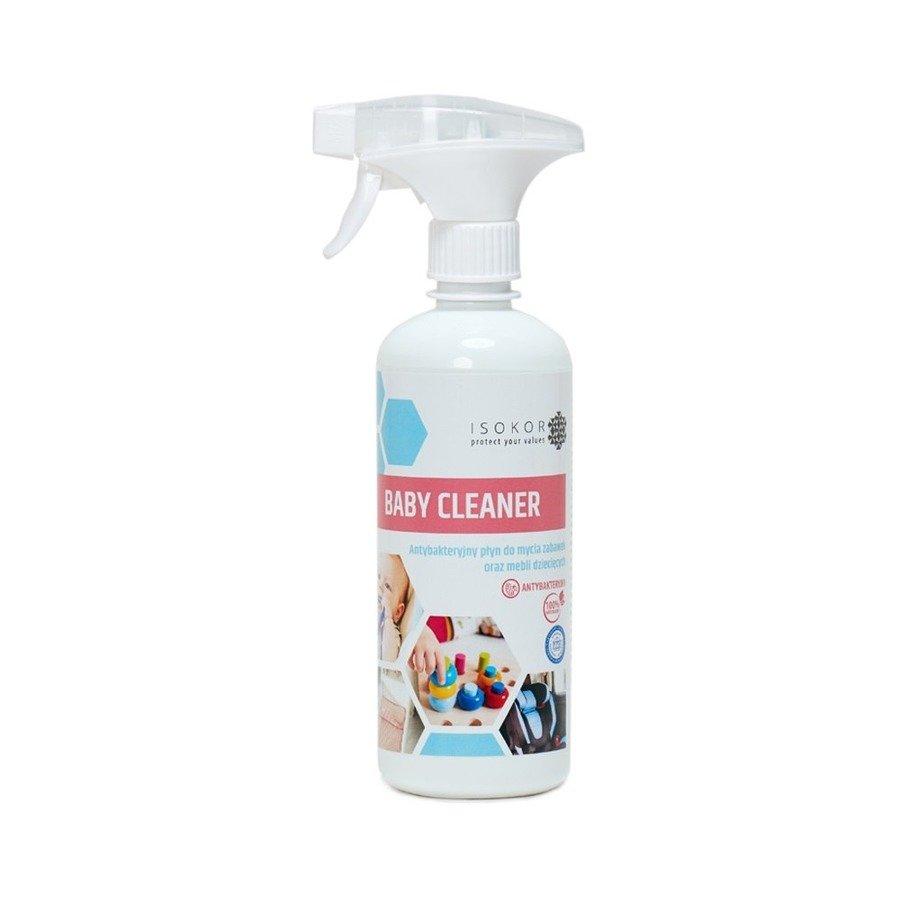 Isokor Baby Cleaner Antybakteryjny płyn o mycia i dezynfekcji zabawek 500 ml
