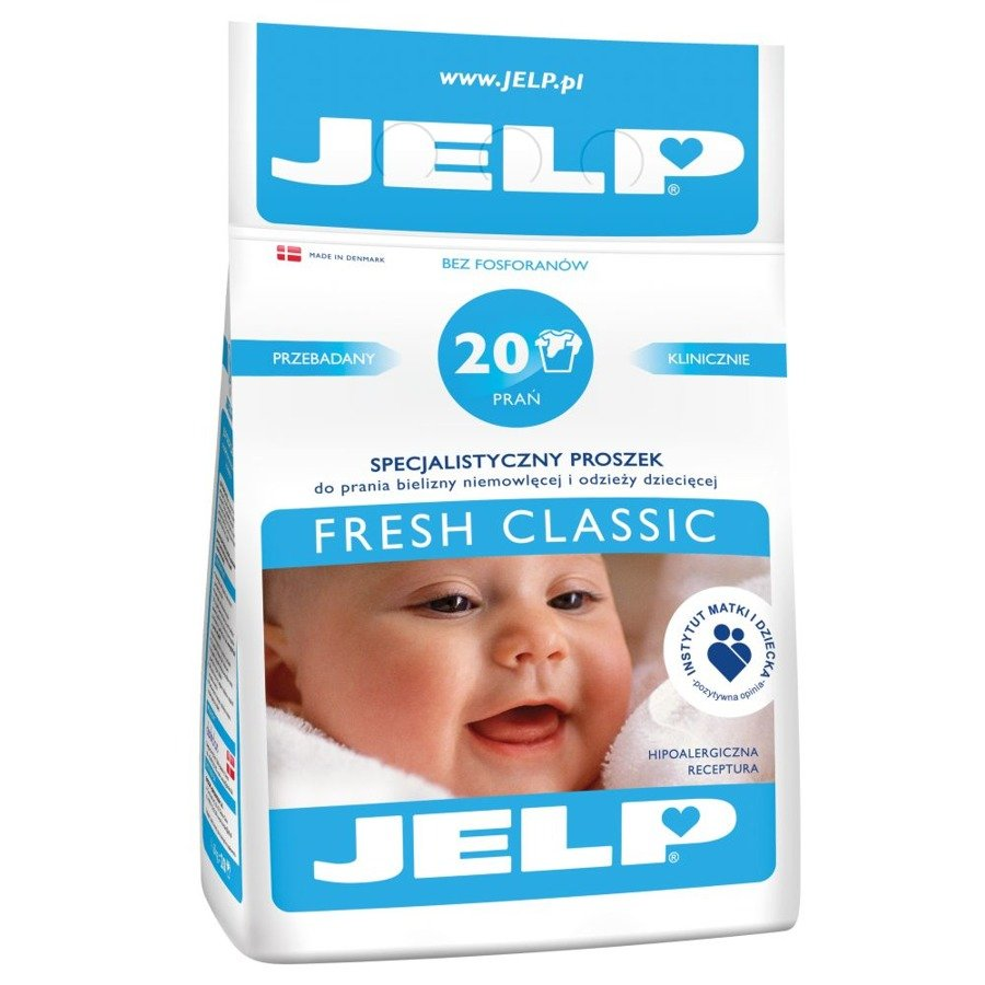 Jelp  Proszek do prania fresh classic 1,6kg