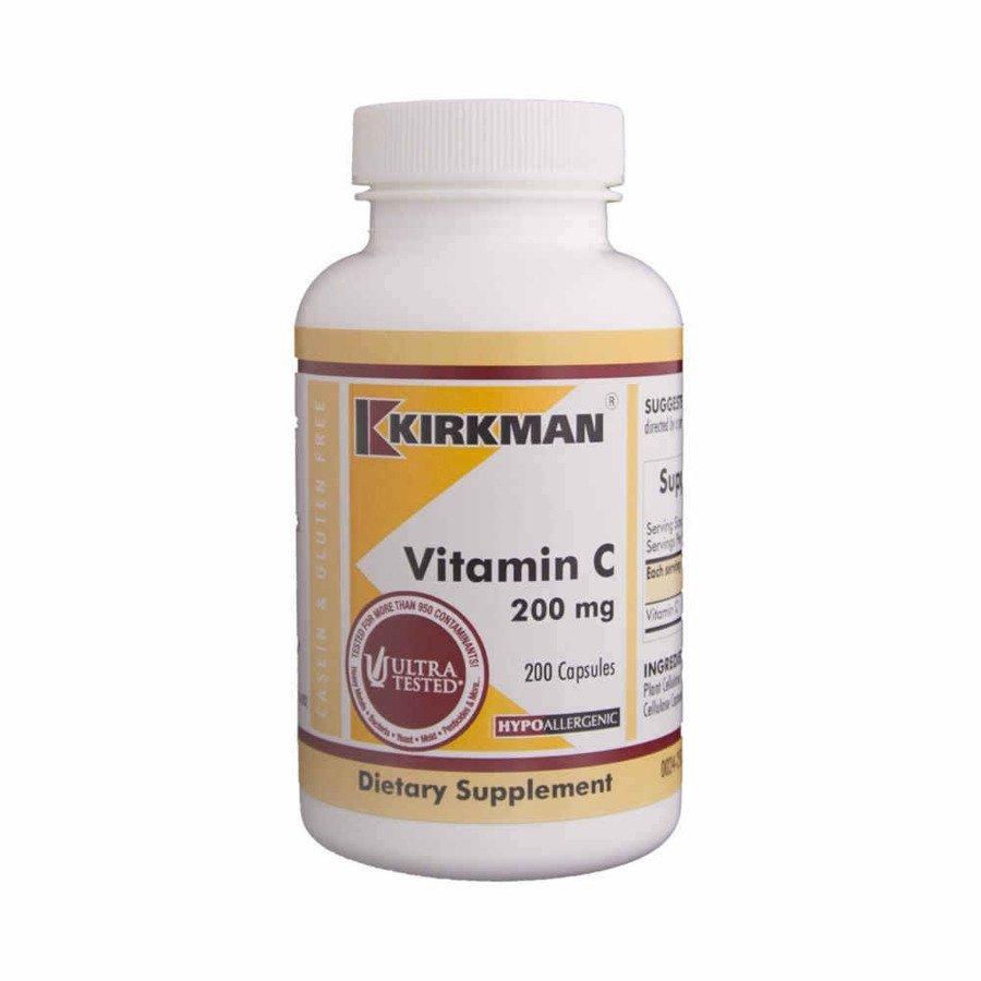 Kirkman Witamina C 250 mg hipoalergiczna 100 kaps.