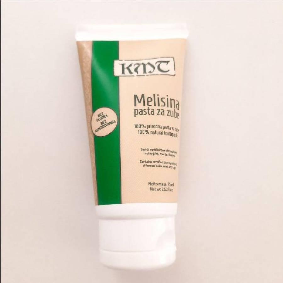 Kuca Magicne Trave Naturalna pasta do zębów z melisą bez fluoru 75 ml