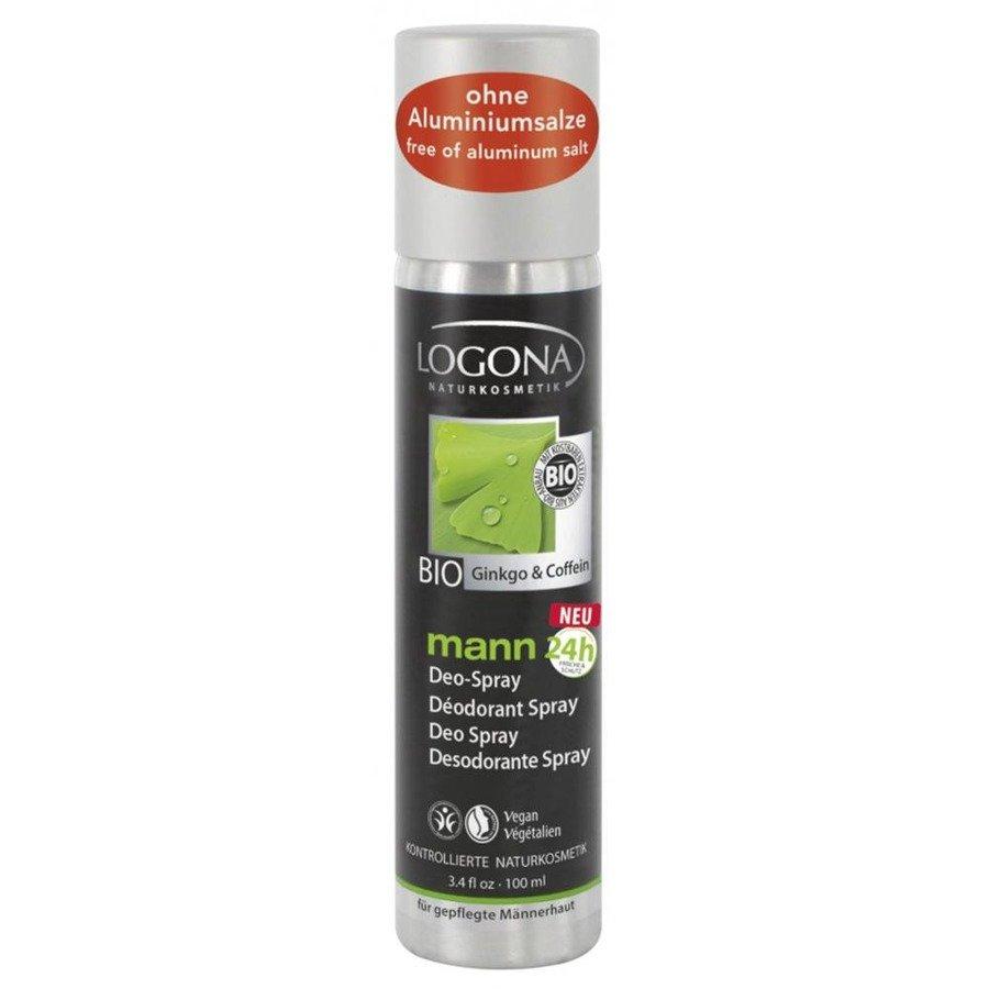 Logona Mann Dezodorant bez aluminium w sprayu dla mężczyzn 100 ml