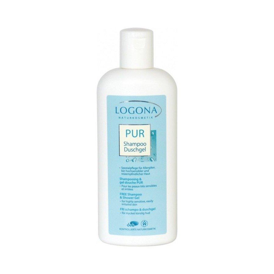 Logona Pur Szampon i żel pod prysznic dla alergików