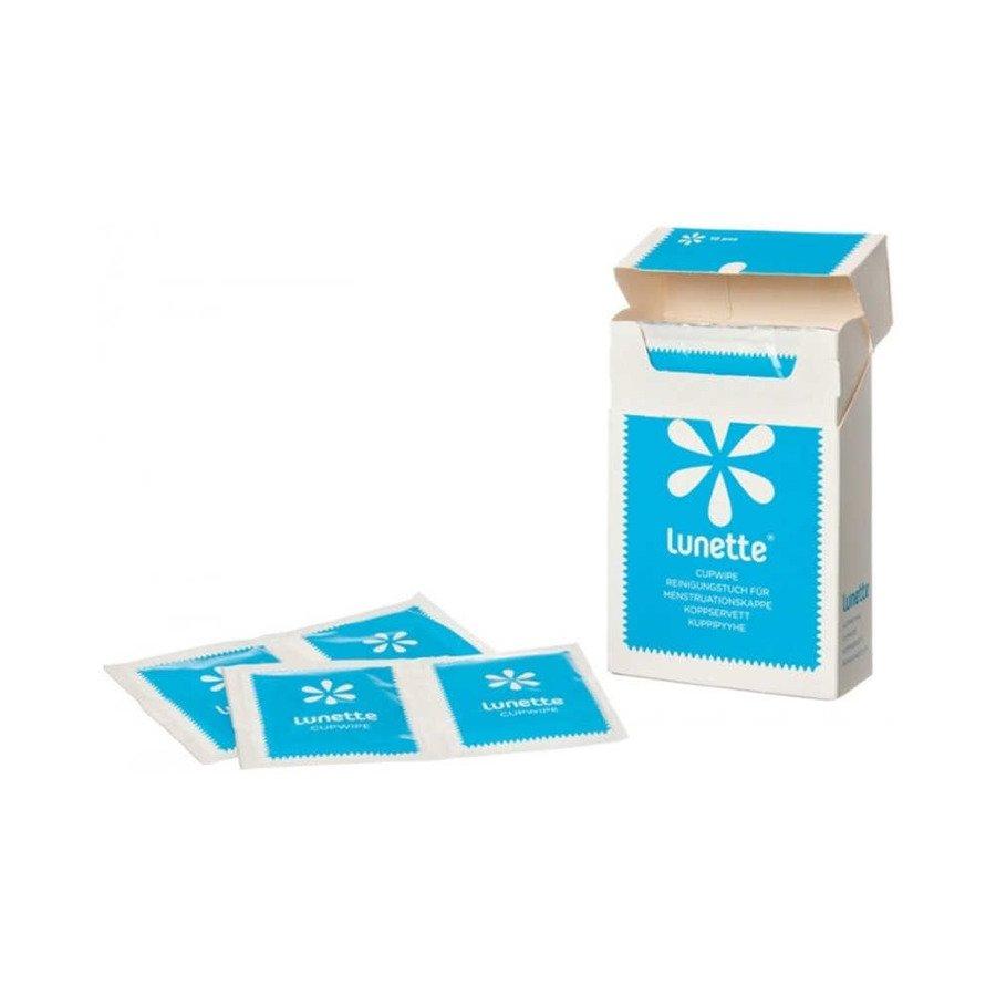 Lunette Chusteczki do czyszczenia i dezynfekcji kubeczka menstruacyjnego 10 szt.