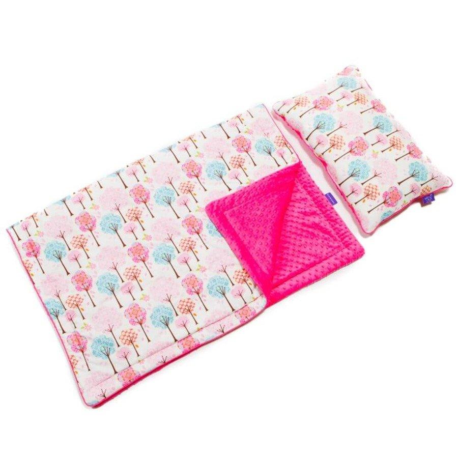 Momme Baby Minky Zestaw przedszkolaka różowy spacer
