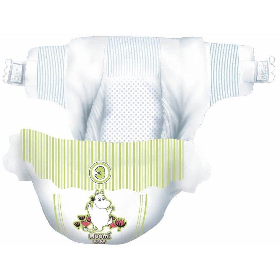 Muumi Baby 3 Pieluchy antyalergiczne jednorazowe 5-8 kg 50 szt.