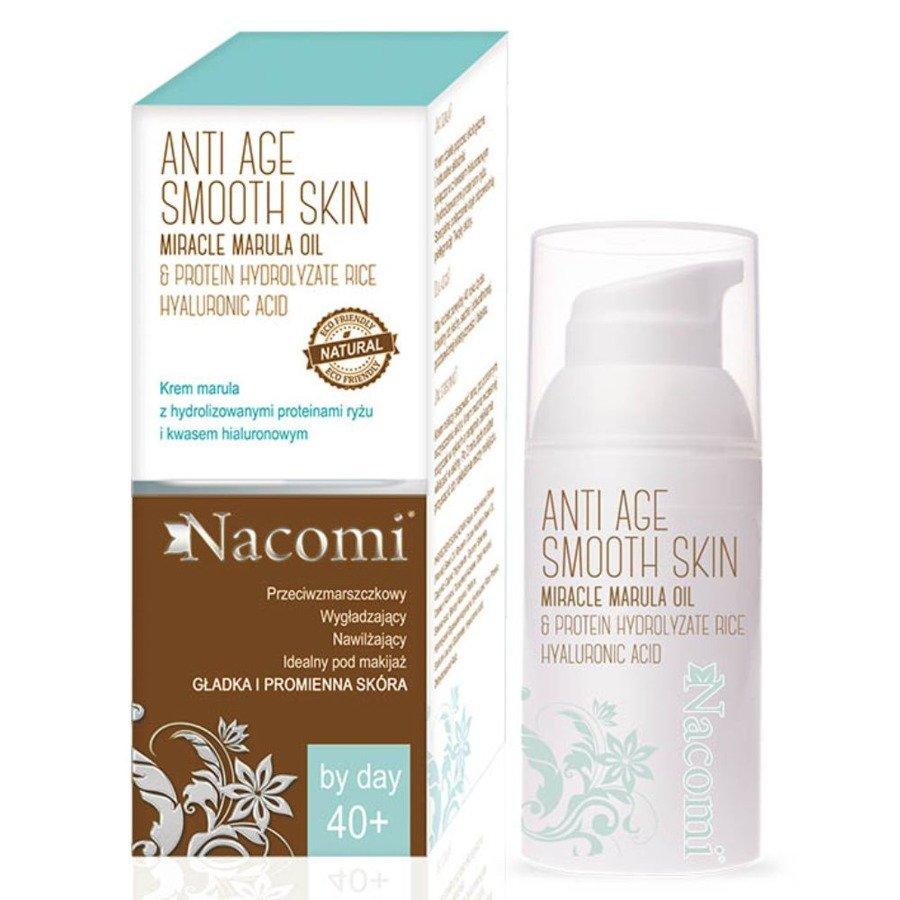 Nacomi Anti Age Krem przeciwzmarszczkowy marula na dzień 40+ 50 ml