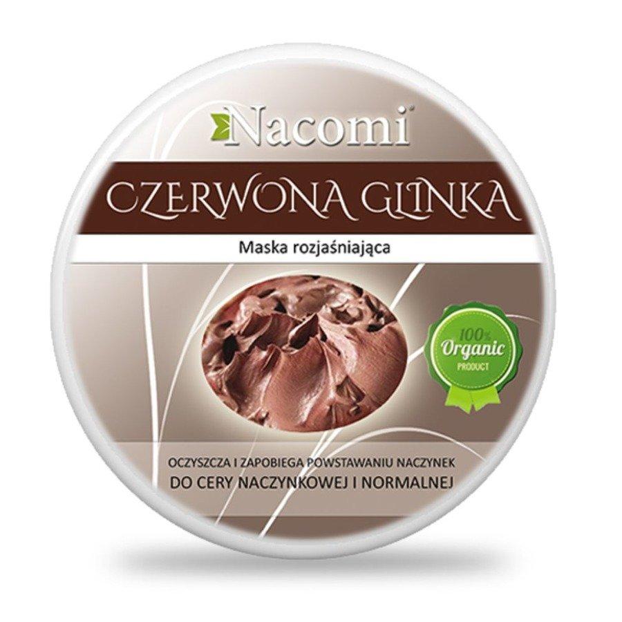 Nacomi Glinka czerwona 200 ml