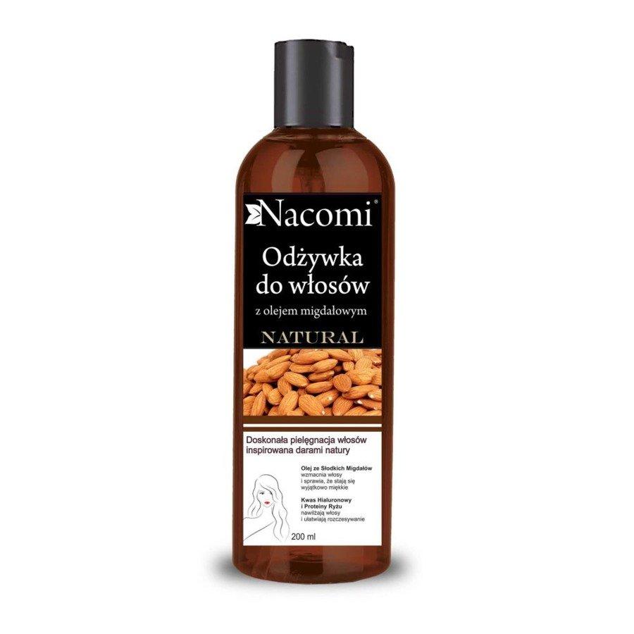 Nacomi Odżywka z olejem ze słodkich migdałów wygładzająca